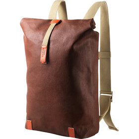 Brooks Pickwick Canvas Backpack small rust/brick
